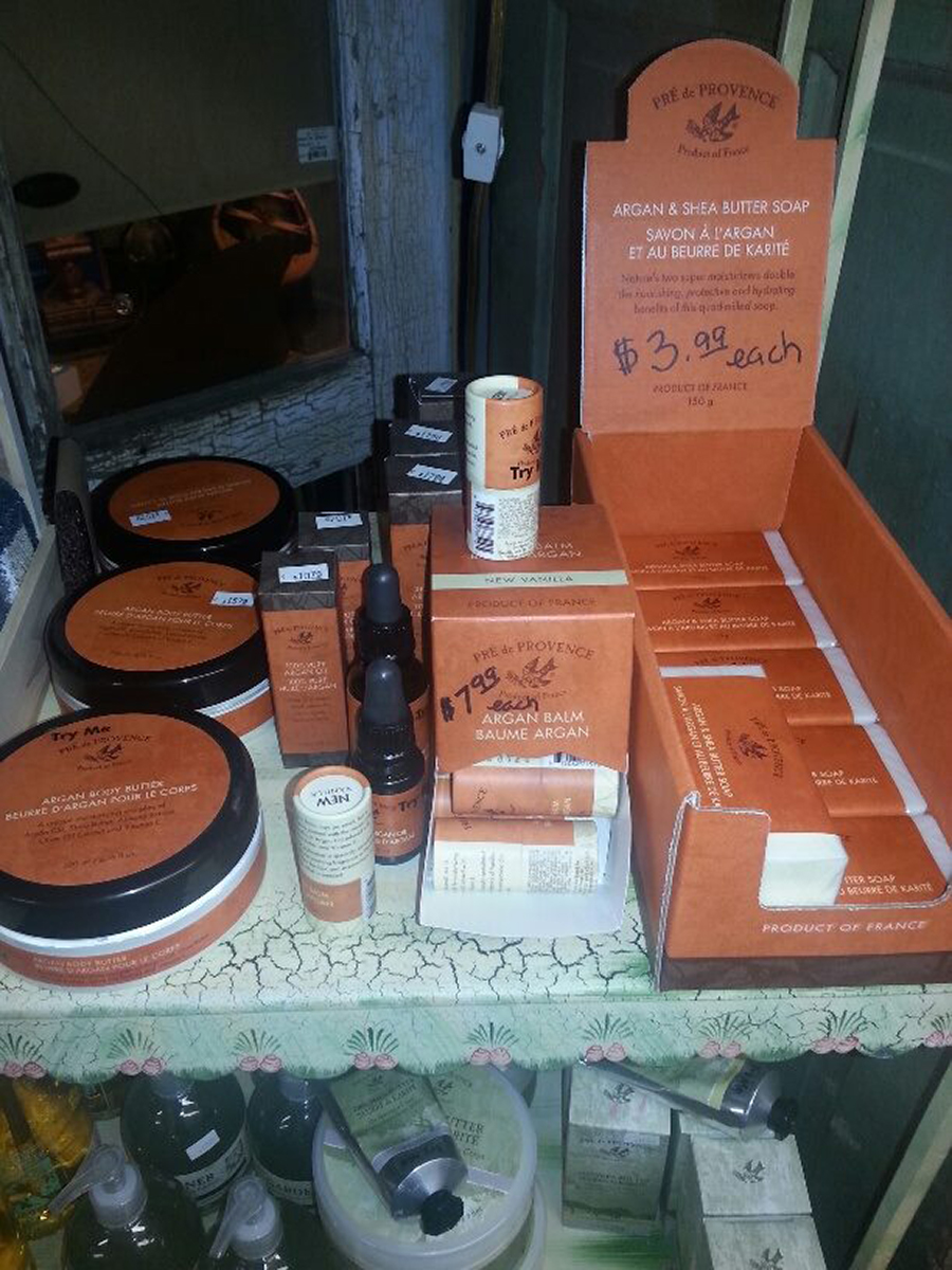 Alive & Well Gifts, Bodycare