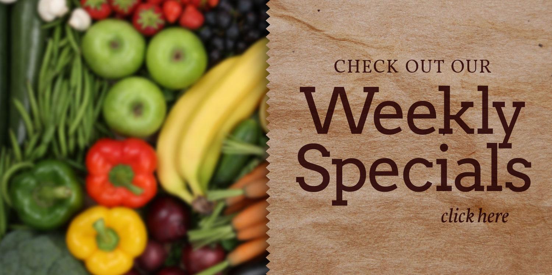Weekly Specials TFL Slider